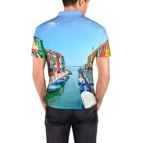 Мужская рубашка поло 3D  Фото 04, Венеция