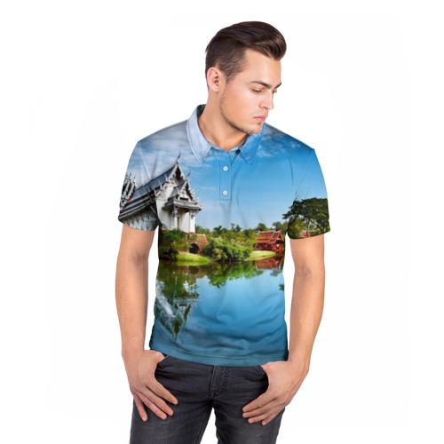Мужская рубашка поло 3D  Фото 05, Таиланд