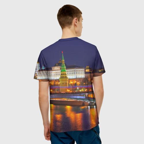 Мужская футболка 3D Москва (Кремль) Фото 01
