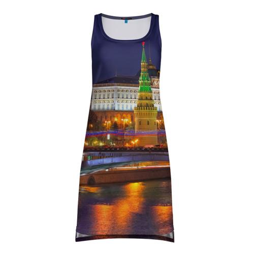 Платье-майка 3D Москва (Кремль)