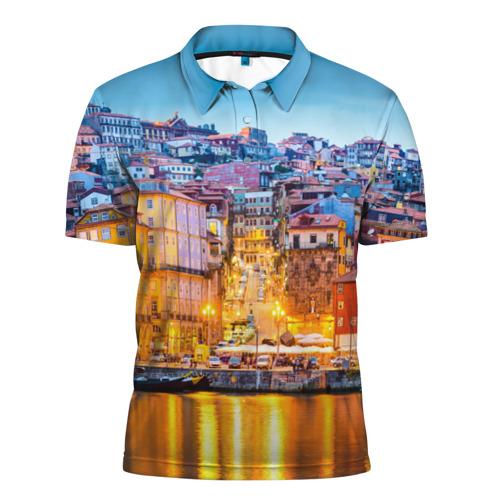 Мужская рубашка поло 3D  Фото 01, Португалия