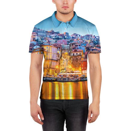 Мужская рубашка поло 3D  Фото 03, Португалия