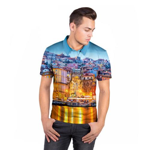 Мужская рубашка поло 3D  Фото 05, Португалия