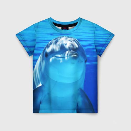 Детская футболка 3D Дельфин Фото 01