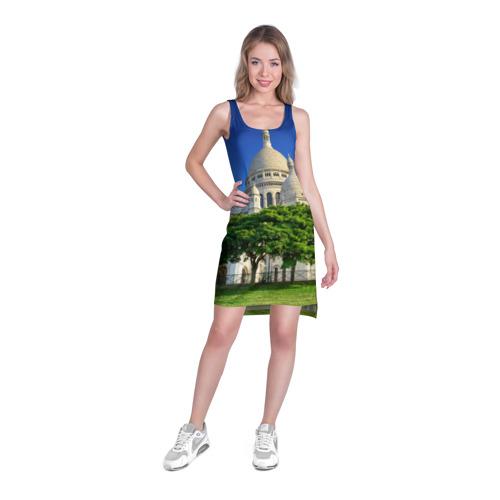 Платье-майка 3D  Фото 03, Париж
