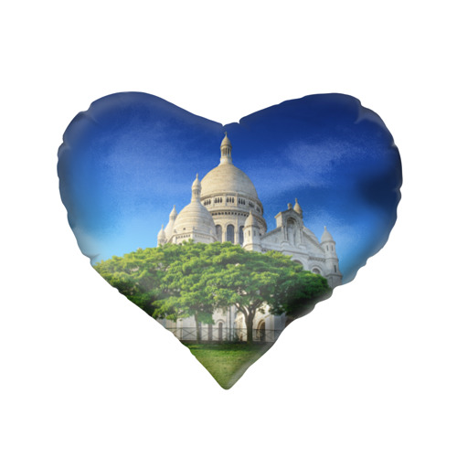 Подушка 3D сердце  Фото 02, Париж