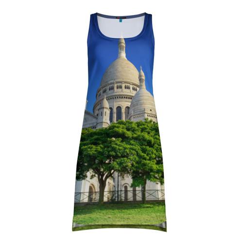 Платье-майка 3D  Фото 01, Париж