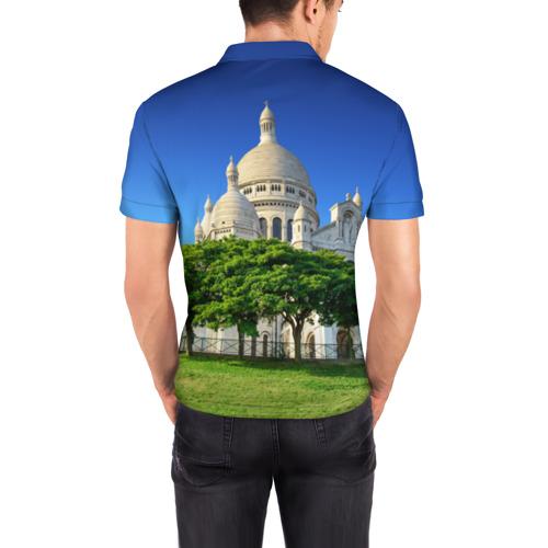 Мужская рубашка поло 3D  Фото 04, Париж