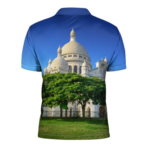 Мужская рубашка поло 3D  Фото 02, Париж