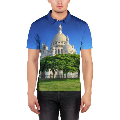 Мужская рубашка поло 3D  Фото 03, Париж