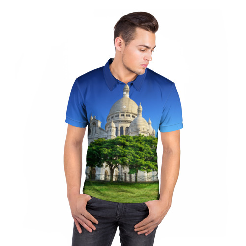 Мужская рубашка поло 3D  Фото 05, Париж