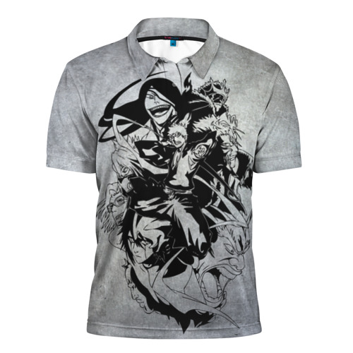 Мужская рубашка поло 3D  Фото 01, Bleach