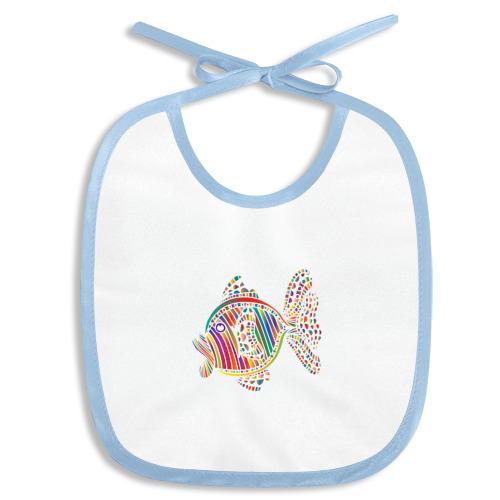 Разноцветная рыбка