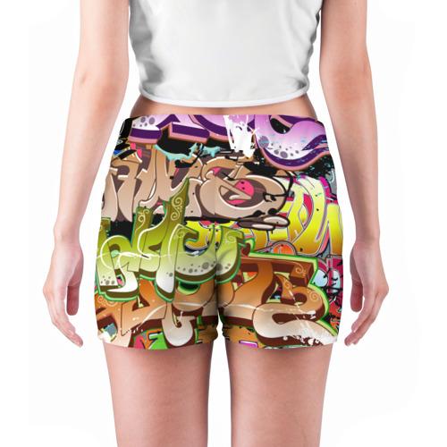 Женские шорты 3D  Фото 04, Пикассо из будущего