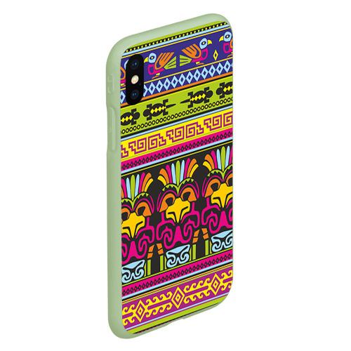 Чехол для iPhone XS Max матовый Мексика Фото 01