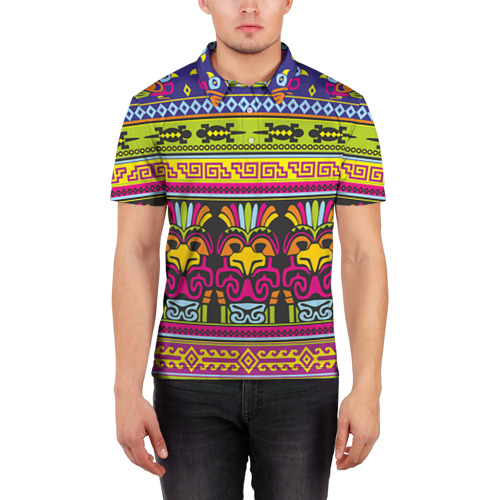 Мужская рубашка поло 3D  Фото 03, Мексика