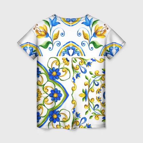 Женская футболка 3D Майолика Фото 01
