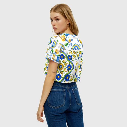 Женская футболка Cropp-top Майолика Фото 01