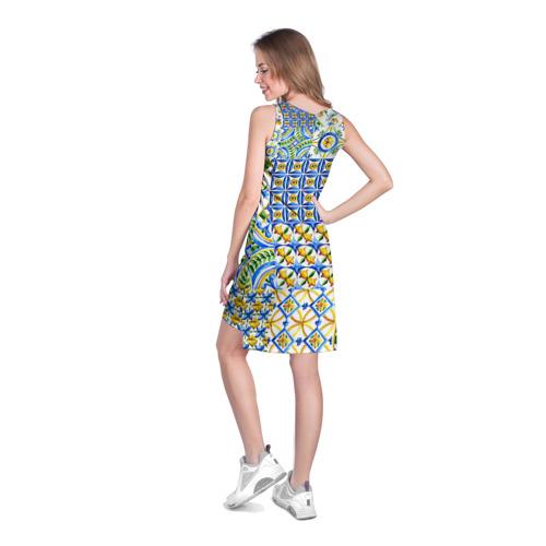 Платье-майка 3D  Фото 04, Майолика 3