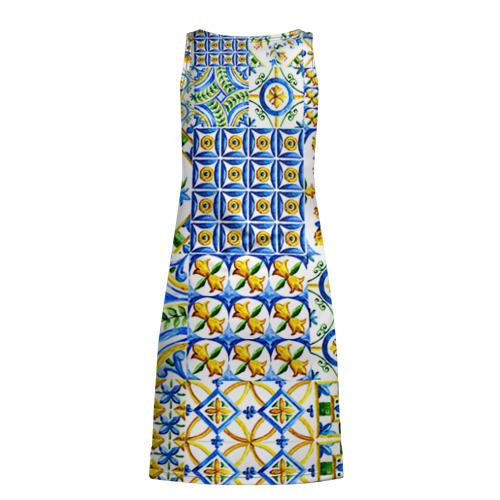 Платье-майка 3D  Фото 02, Майолика 3