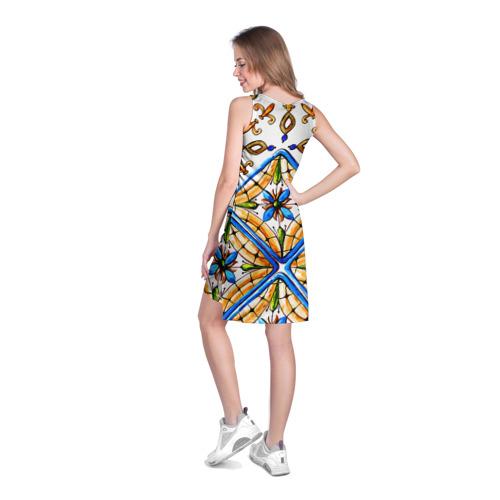 Платье-майка 3D  Фото 04, Майолика 4