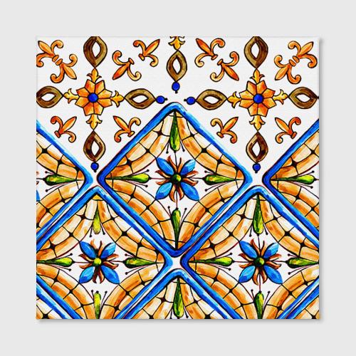 Холст квадратный Майолика 4 Фото 01