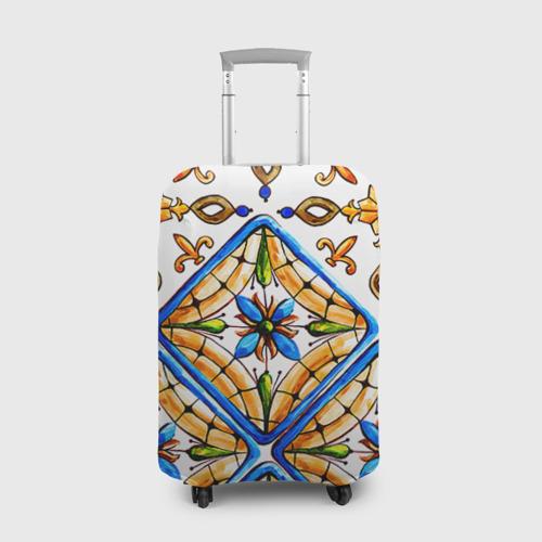 Чехол для чемодана 3D Майолика 4 Фото 01