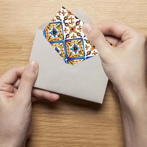Поздравительная открытка Майолика 4 Фото 01