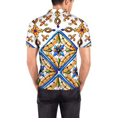 Мужская рубашка поло 3D Майолика 4 Фото 01