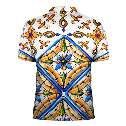 Мужская рубашка поло 3D  Фото 02, Майолика 4