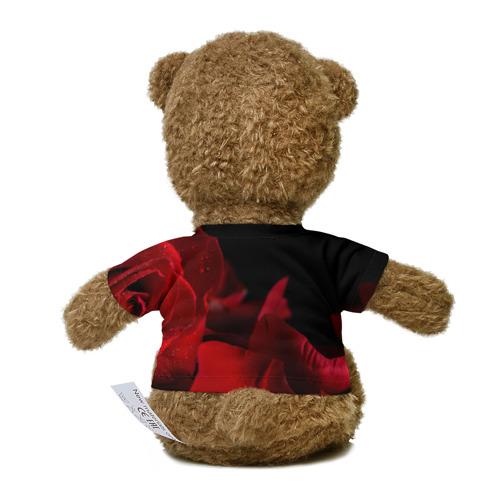 Миша в футболке 3D Лепестки розы Фото 01