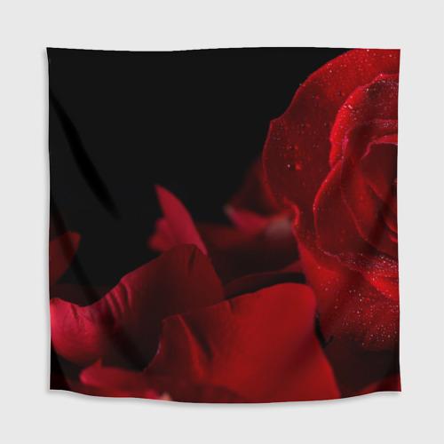 Скатерть 3D Лепестки розы Фото 01