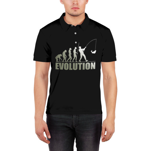 Мужская рубашка поло 3D  Фото 03, Эволюция