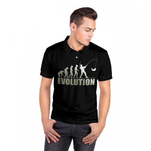 Мужская рубашка поло 3D  Фото 05, Эволюция