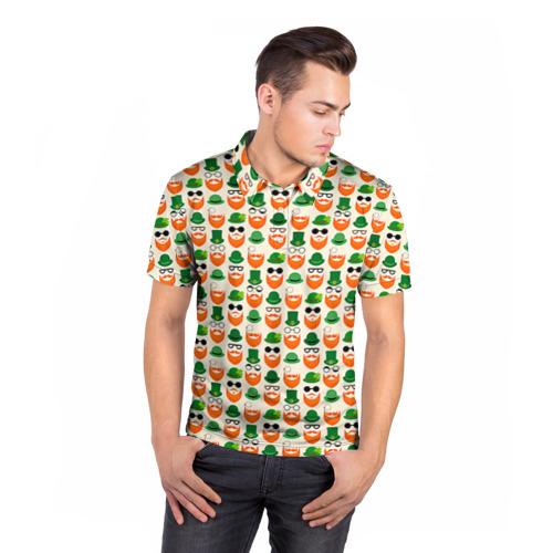 Мужская рубашка поло 3D  Фото 05, Хипстер 1