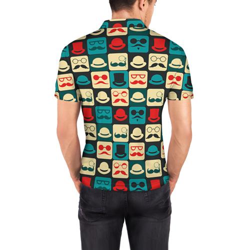 Мужская рубашка поло 3D  Фото 04, Хипстер 3