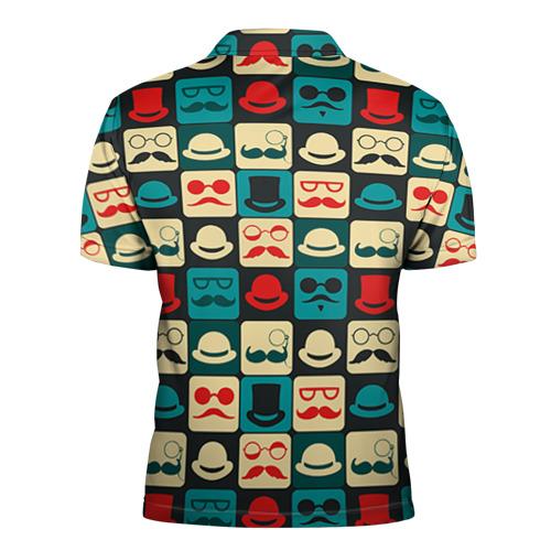 Мужская рубашка поло 3D  Фото 02, Хипстер 3