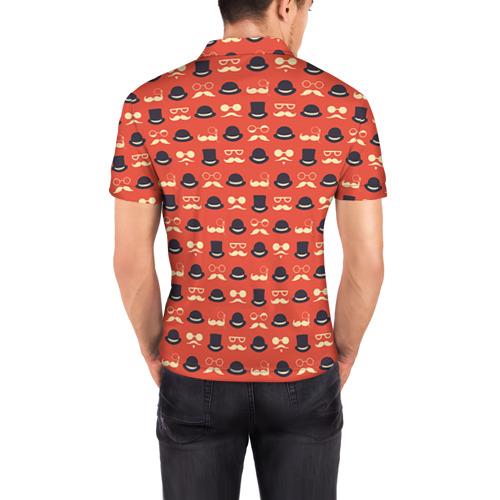 Мужская рубашка поло 3D  Фото 04, Хипстер 4
