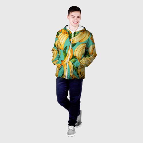 Мужская куртка 3D  Фото 03, Банан