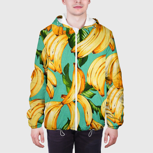Мужская куртка 3D  Фото 04, Банан