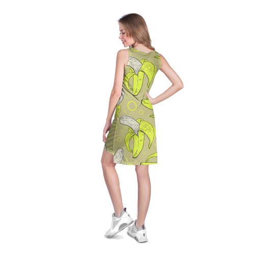 Платье-майка 3D  Фото 04, Банан 8