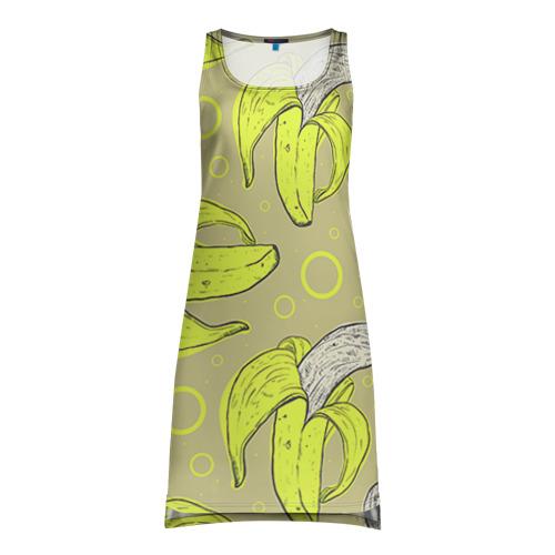 Платье-майка 3D  Фото 01, Банан 8