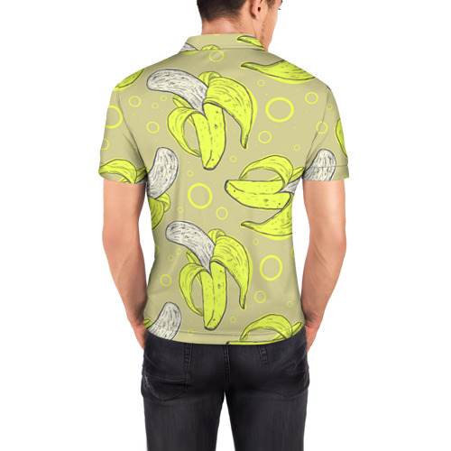 Мужская рубашка поло 3D  Фото 04, Банан 8