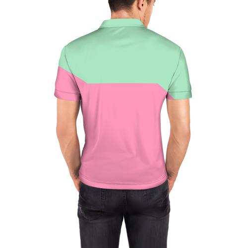 Мужская рубашка поло 3D  Фото 04, Банан 7