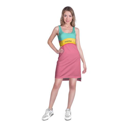 Платье-майка 3D  Фото 03, Банан 4