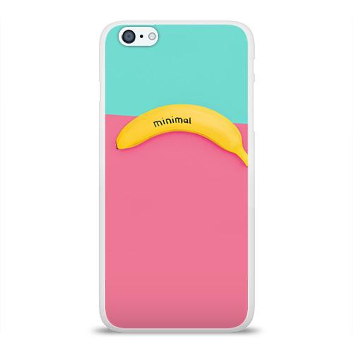 Чехол для Apple iPhone 6Plus/6SPlus силиконовый глянцевый  Фото 01, Банан 4