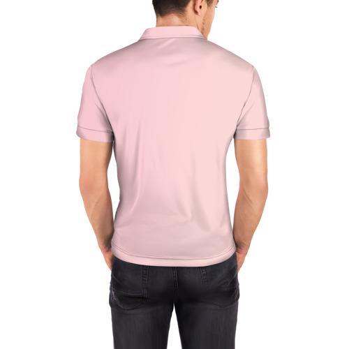 Мужская рубашка поло 3D  Фото 04, Банан 3