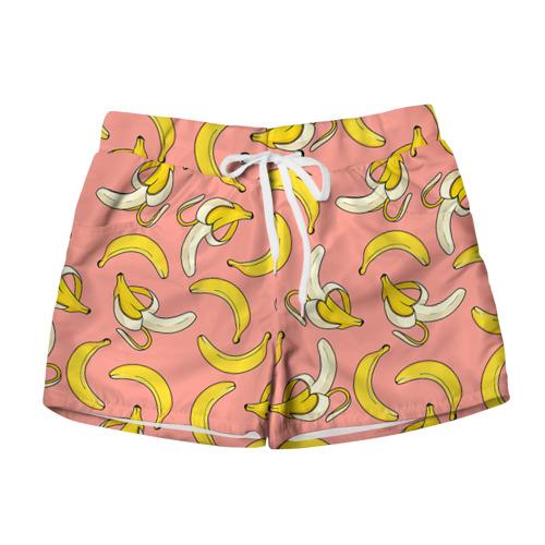 Женские шорты 3D  Фото 01, Банан 1