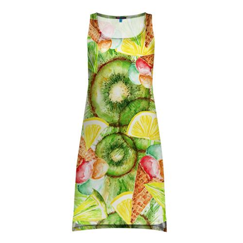 Платье-майка 3D  Фото 01, Веселые фрукты 2