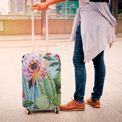 Чехол для чемодана 3D  Фото 04, Зелень